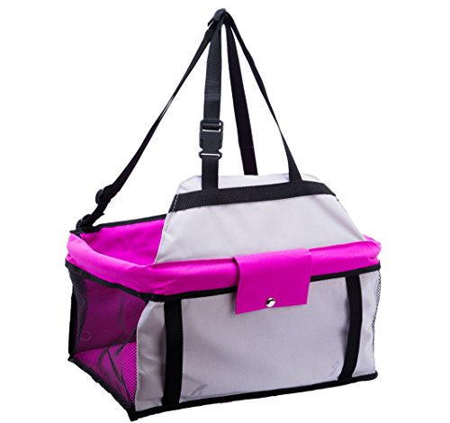 EXPAWLORER-Pet-Car-Seat-Carrier-Multi-Function-Deluxe-Travel-Bag-for-Small-Dogs