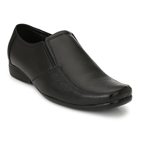 26c29c95ab4a DSF Men s Black Formal Shoes - 10 UK  Buy Online at Low Prices in ...