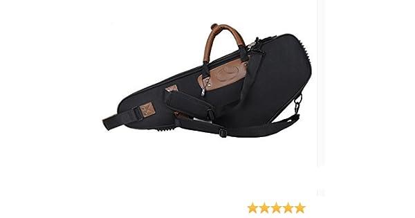 Saxofón Estuches y fundas, UMsky EB para Saxofón alto bolsa resistente al agua Oxford bolsa de tela para saxofón caso