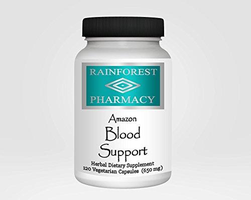 Amazon крови Поддержка 120 Вегетарианская капсулы 650 мг