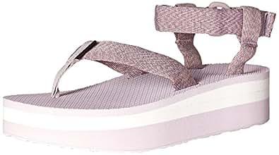Amazon.com | Teva Women's Flatform Platform Sandal