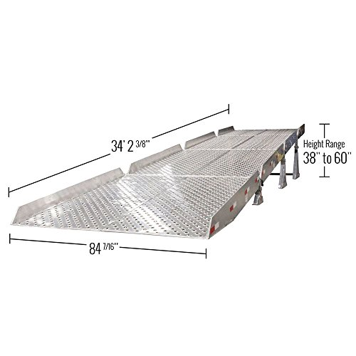 Guardian Aluminum Portable Yard Ramp System With 6 Safety
