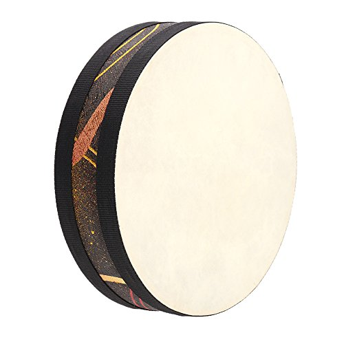 Andoer Ocean Wave Bead Drum Gentle Sea Sound Musical Instrument - Indian Drums Hand