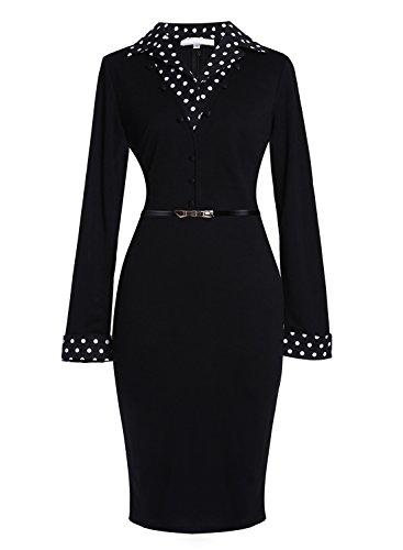 Meikeerr Womens Workwear Sleeve Business