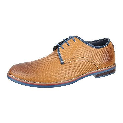 Ital-Design - Zapatillas para hombre marrón claro