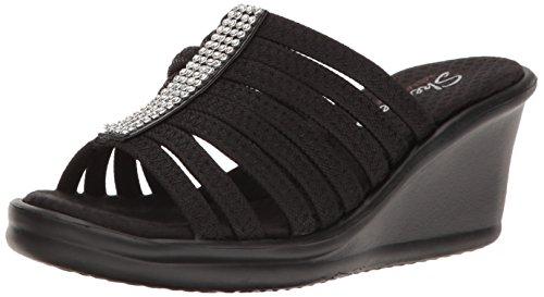 skechers-cali-womens-rumblers-hot-shot-wedge-sandal-black-10-w-us