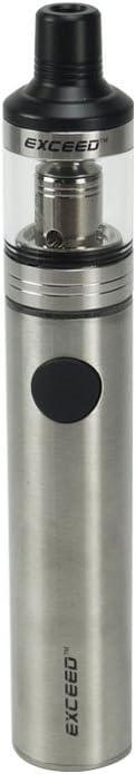 Joyetech Exceed D19 Cigarrillos electrónicos EGO AIO Kit de inicio 1500 mAh (Plata) con Extra Vape Band