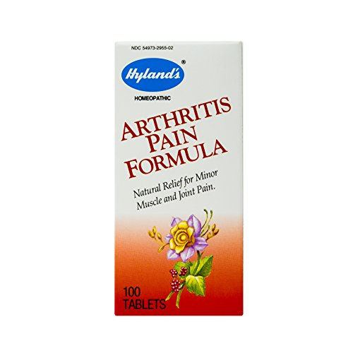 Arthritis Pain Relief Formula Tablets by Hyland's, Natural Relief of Minor Muscle and Joint Pain Due to Rheumatoid Arthritis, 100 Count