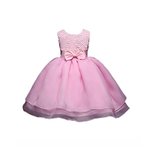 Feicuan Baby Girls Formal Dresses, Wedding Party Princess Bowknot Dress 0-18M