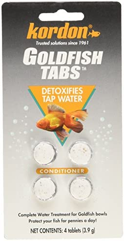 KORDON  39116   12-Pack Goldfish Tabs