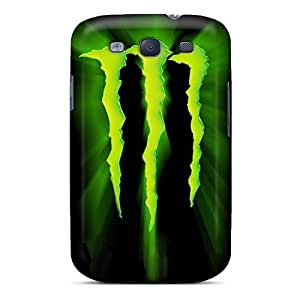 For Richardcustom2008 Galaxy Protective Cases, High Quality For Galaxy S3 Monster Logo Skin Cases Covers