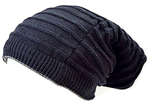 Muchos Invierno gorros de Reversible de gorros de bufanda de de Invierno de bufandas de redondo bufanda de Long de gorro de muetzen Invierno Edition Skul lred Azul
