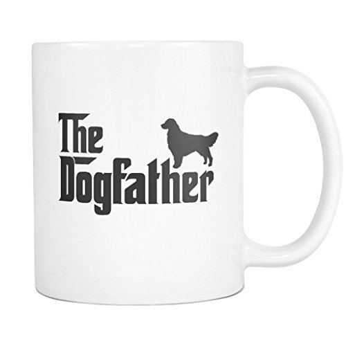 Golden Retriever DogFather Coffee Mug Funny Gift Tea for sale  Delivered anywhere in USA