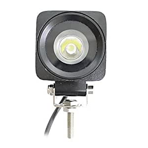 1 LED 10W luz de trabajo Square
