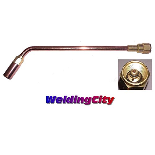 Propane Tip - WeldingCity Heavy Duty Propane/Natural Gas Heating Tip (Rosebud) 10-MFN Size 10 for Victor Oxyfuel 300 Series Torch