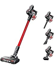 V20 Cordless Vacuum Cleaner, 300W Motor with 25Kpa Suction Stick Vacuum Cleaner, 40 mins Lightweight 4-in-1 Vacuum, Detachable Battery HEPA Filter for Pet Hair Carpet Hard Floor