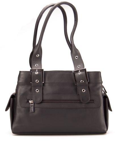 Visconti - Umhängetasche - Handtasche - weiches Leder - # 18748