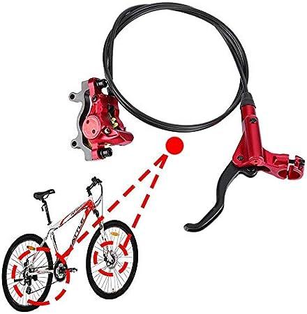 VGEBY1 Bike Disc Brake Levers Mountain Bike Hydraulic Disc Brakes Handle Calipers Front Rear Brake Set