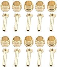 Olive Connector and Insert, 10 Set Bike Disc Brake Hose Olive Connecting Insert Set Replacement Part