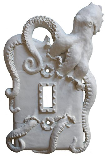 Steampunk Octopus Light Switch Wall Plate Single Toggle