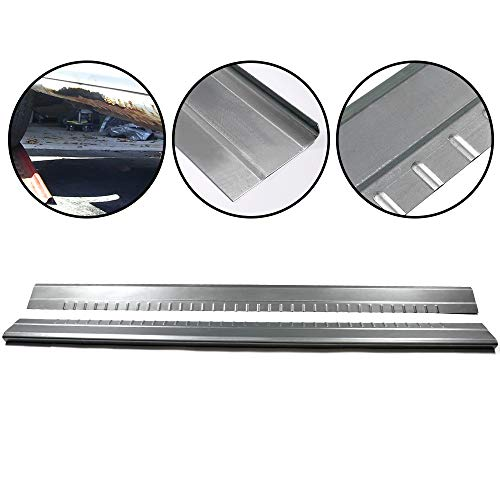 1 Pair Rocker Panels Covers Protector Replacement Fit For 1999-2007 Chevy Silverado GMC Sierra Extended Cab 4 Door