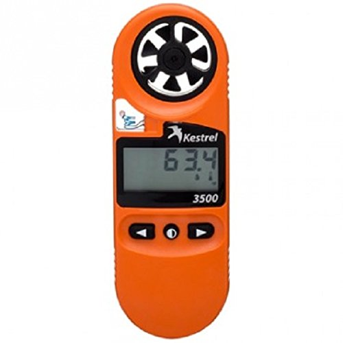 Kestrel 3500FW Professional Fire Weather Meter Orange by Kestrel