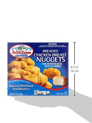 Bell Evans Frozen Chicken Nuggets Raised Without Antibiotics