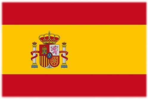 Bandera/bandera Tattoo España – 2 pares (4 unidades) – No Permanente – para cara, mejilla, hombro, ARM, mano: Amazon.es: Deportes y aire libre