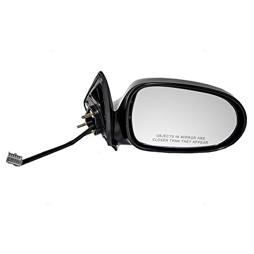 Passengers Power Side View Mirror Ready to Paint Replacement for Nissan Sentra 963015M000