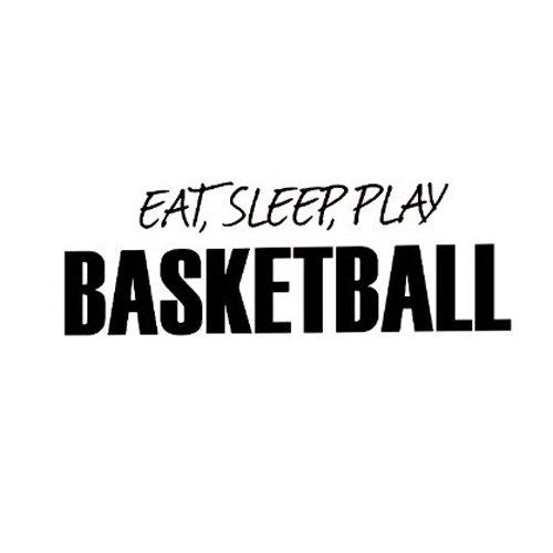 Wall Decals Stickers - Cofa Wall Decal Sticker Quote Vinyl Eat Sleep Play Basketball Boy 39 S - Frozen Zen Disney Room Kitchen Quotes For Tree Bedroom -