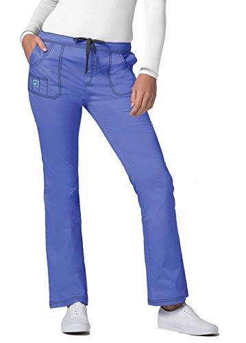Adar Pop-Stretch Junior Fit Mid Rise Flare Leg Pants