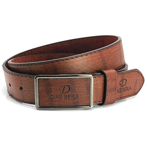 Men Waistband Luxury Leather Automatic Buckle Belt Casual Waist Strap Belts