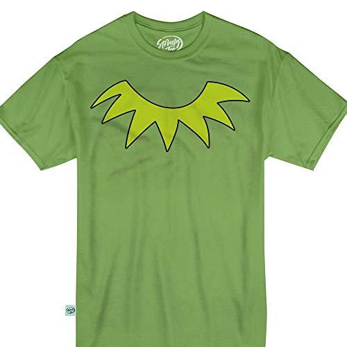 Springtee Green Puppet Frog Halloween Costume Kids & Adult T-Shirt