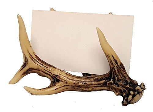 Deer Antler Office Decor Business Card Holder (Business Card (Decorative Business Card Holders)