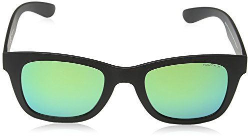 Black soleil Lunette 1 Mirror Wayfarer Exchange 1 Frame Police Exchange Lens Green Mixte de matt Semi PAwpEqSxnR