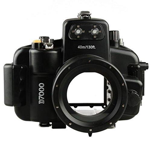 Yunchenghe Funda Para Cámara Sumergible Para Cámara Digital Submarina Con Cámara Digital Para Nikon D7000 a 40 m / 130...