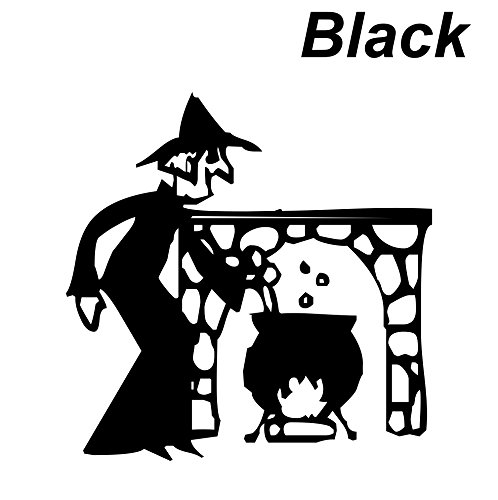 Black Seal cutting|Witch|Pot|Fireplace|The - Kaleidoscope Promotions