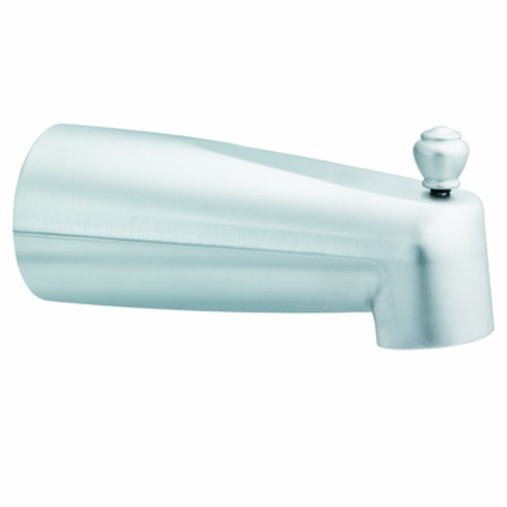 Moen 3830BN Tub Diverter Spout, Brushed Nickel - Bathtub Faucets ...
