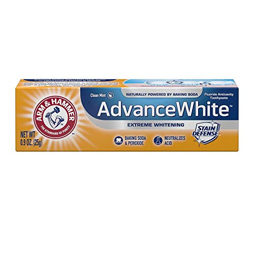 (ARM & HAMMER Advance White Baking Soda & Peroxide Toothpaste, Extreme Whitening 4.3 oz)