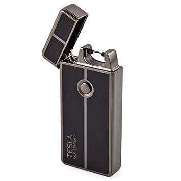 Tesla Coil Lighters™ USB Rechargeable Windproof Arc Lighter (1  Gun Metal)