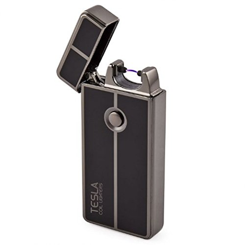 Tesla Coil LightersTM USB Rechargeable Windproof Arc Lighter (1. Gun Metal) best USB lighter