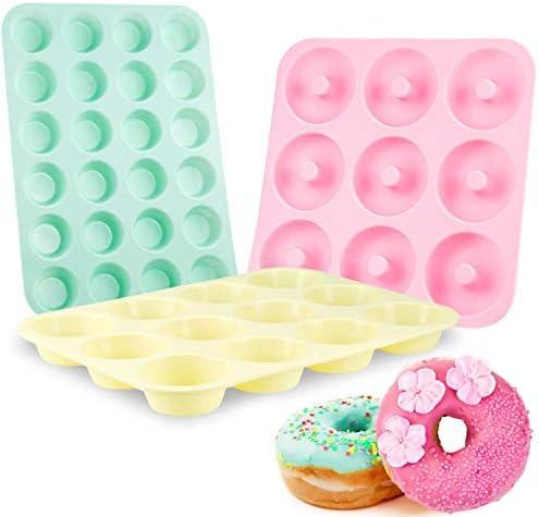 Senbowe Silicone Muffin Cupcake Pans