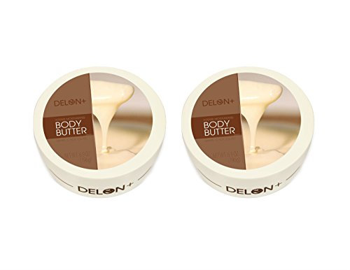 Delon White Chocolate Body Butter - 2 Pack