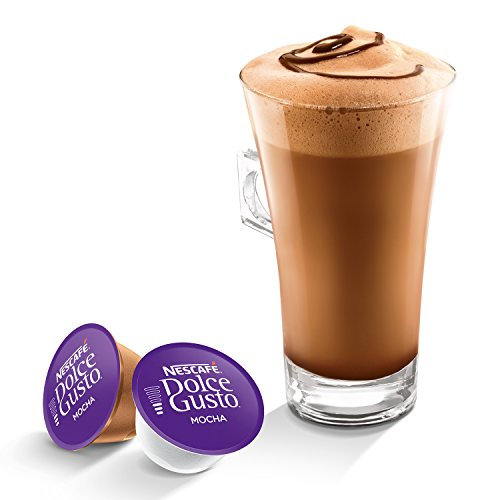 amazon com nestle mocha for dolce gusto coffee capsules 16
