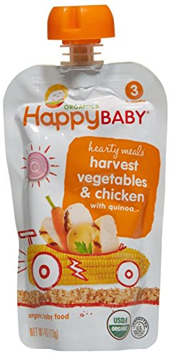 Happy Family happy baby stage 3 Hearty Meals – Chick Chick – 4 oz – 8 pk
