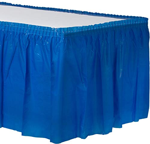 - Amscam 77025.105 Solid Color party-tablecovers, 14' x 29