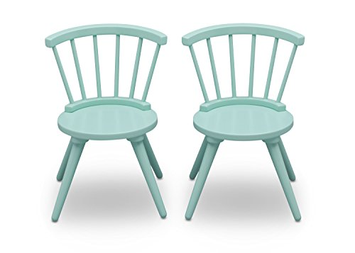 d12efb3a56c Amazon.com  Delta Children Windsor Kids Wood Chair Set and Table (2 Chairs  Included)