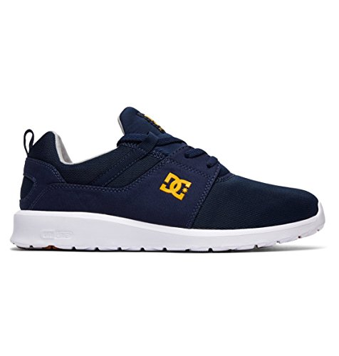 Shoes Navy Bleu DC Sneakers Uomo Heathrow M Gold Tpqdn4d