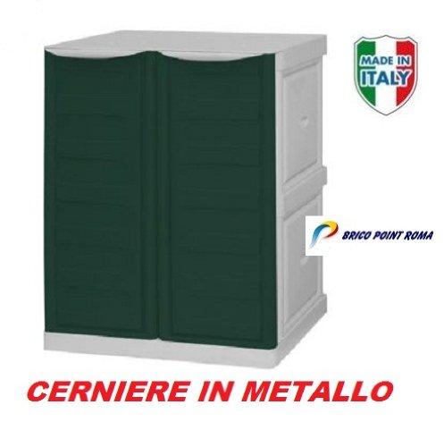Mobiletto esterno armadio in resina da esterno omnimodus - Mobiletti plastica per esterni ...