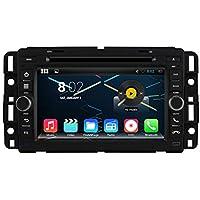 KUNFINE Android 6.0 Otca Core Car DVD GPS Navigation Multimedia Player Car Stereo For GMC Yukon Tahoe Acadia Suburban 2007 2008 2009 2010 2011 2012 Steering Wheel Control 3G Wifi Bluetooth 7 Inch